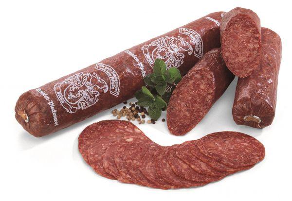 Schinkenplockwurst Rein Rind 300gr am Stück