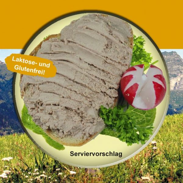 Delikatess Kalbsleberwurst Rein Rind 200g Dose