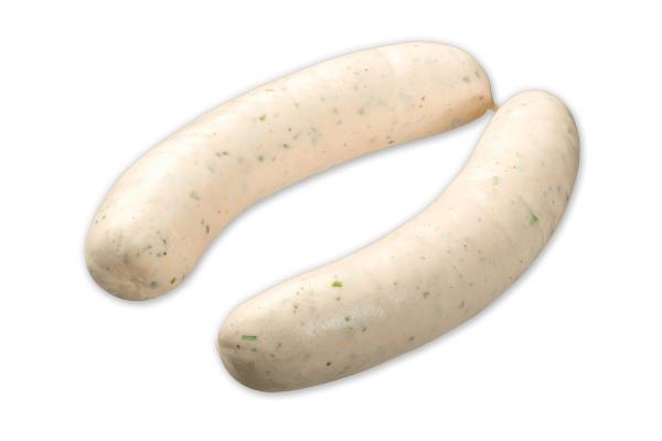 Weißwurst Rein Rind 250gr in der Dose 4 Stück (2 Paar)