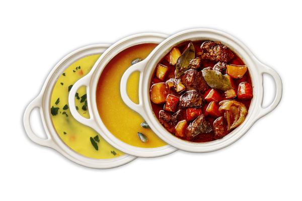 Böckle´s 3er Suppen-Set