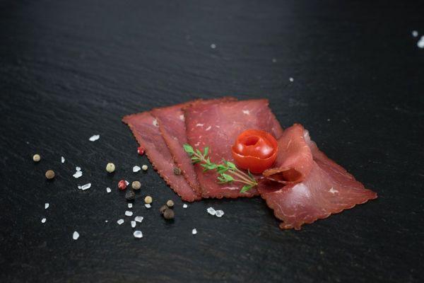 Rinderschinken Rauchfleisch 100g geschnitten