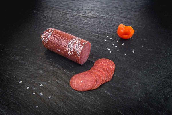 Bio Rindersalami Rein Rind 100g geschnitten