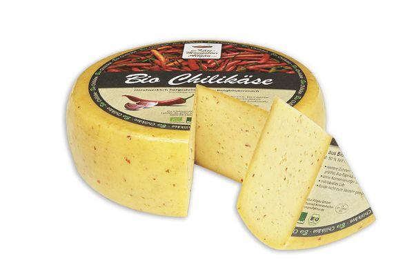 Bio Chili Käse 250gr am Stück mit Rotkultur
