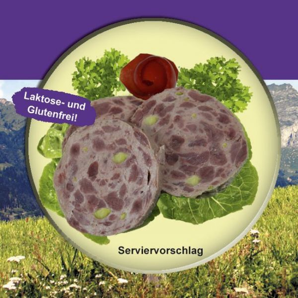Kalbsschinkenwurst Rein Rind (Bierschinken) 200g Dose