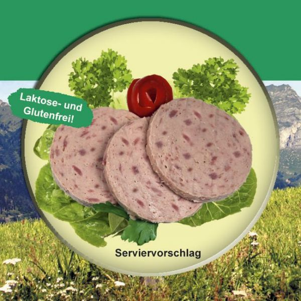 Schinkenwurst Rein Rind 200g Dose
