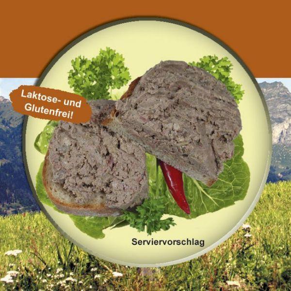 Gutsleberwurst Rein Rind 200g Dose