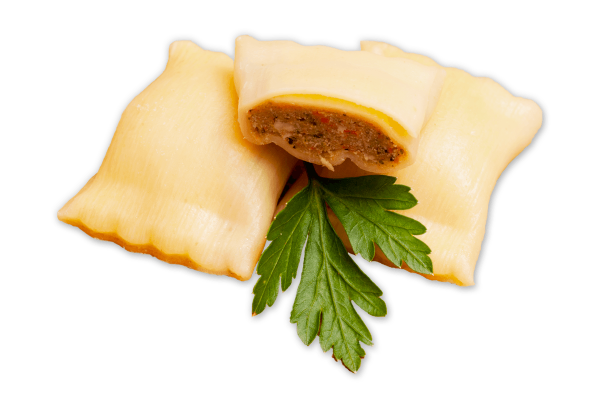 Mini Kalbfleisch Maultaschen Rein Rind 500gr