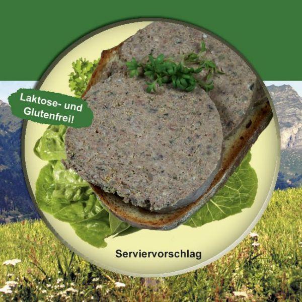 Kräuterleberwurst Rein Rind 200g Dose